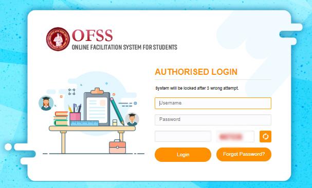 OFSS Bihar Graduation Admission Online Form Apply OFFS - 2020