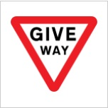 Giveway Sign