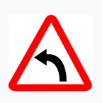 Left Curve Sign
