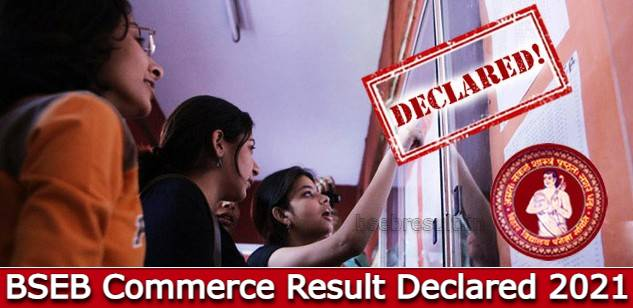 BSEB Commerce Result Declared 2021